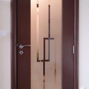 Фурнирована интериорна врата F-011