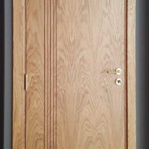 Фурнирована интериорна врата F-007